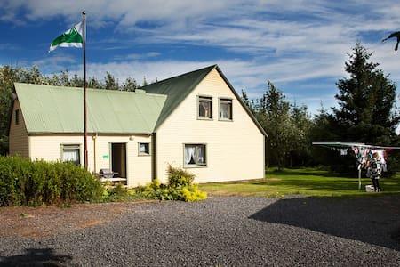 Hjardarbol Guesthouse - Double Room - Hveragerði
