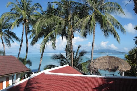 Great place, seaview, 10m to beach - Ko Samui