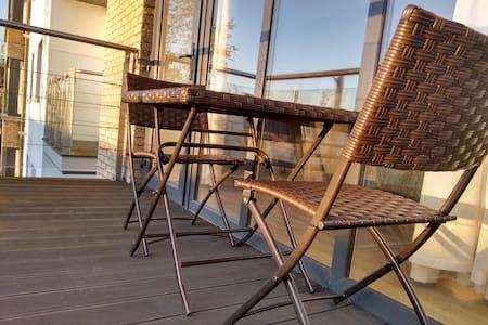 Stylish City Apt. with Balcony