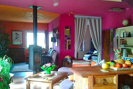 Jolie loft spacieux et coloré - Soustons - Loft