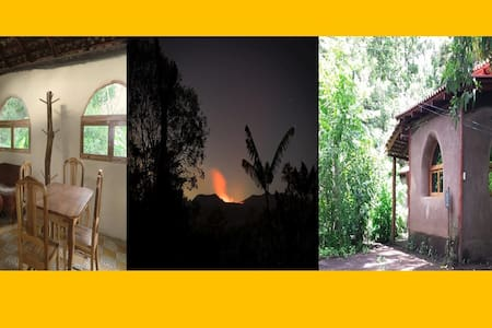 Eco cabin in  lovely garden, close Masaya Volcano - Kisház