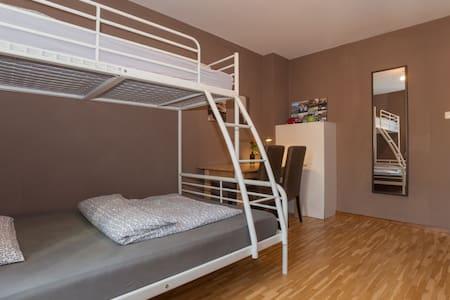 Modern private room near University - Munich - Appartement