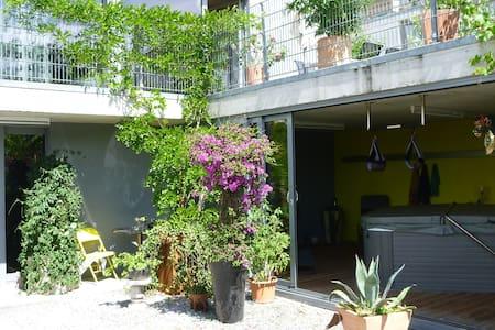 Liebevoll eingerichtete 2-Zimmerwohnung im Grünen - Bühler - Condominium