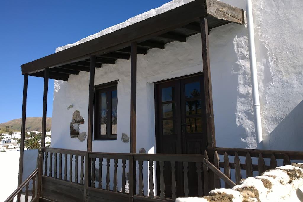 Historical Canarian house in Haría