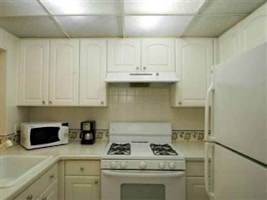 suites come with kitchens