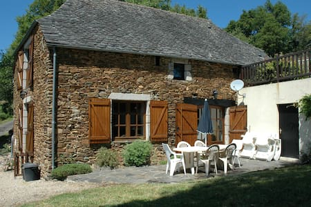 Comfortable fully furnished barn with pool - Coubisou - Ev