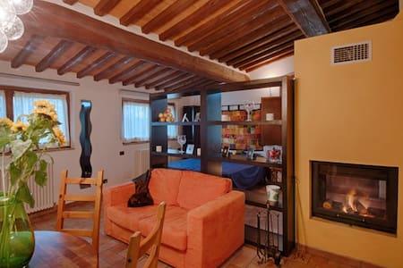 Romantic cottage in Tuscan style - Siena - Wohnung