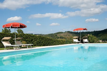 BuonRiposo -Vacation in Tuscany 2+2 - Talo