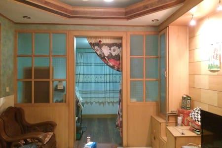 江汉路/洞庭街/俄国租界《西伯利亚理发师》电影主题复古三居室 - Wuhan - Apartamento