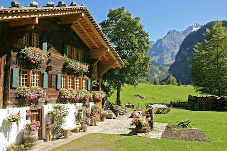 The Hayloft, Award Winner, 2 beds - Kandersteg