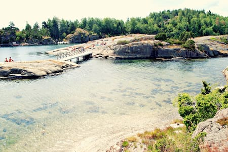 Charming summercabin 50 m from sea - Tvedestrand - Stuga