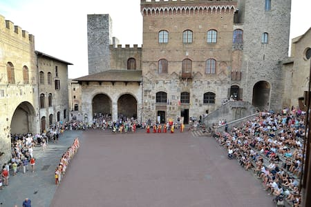 Lovely Flat View on Piazza Duomo San Gimignano - House