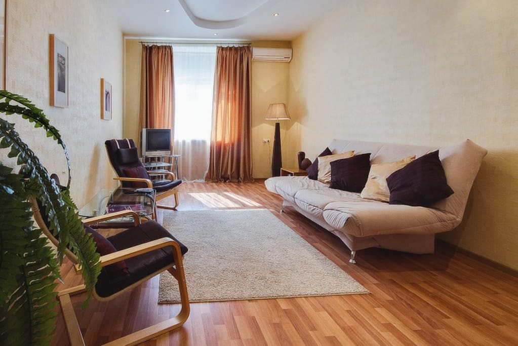 183-Tverskaya area - 1-bedroom apt
