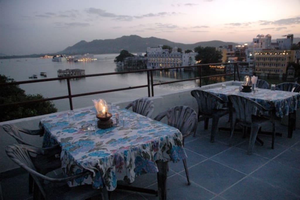 Roof top Restaurant The Dinner Terrace