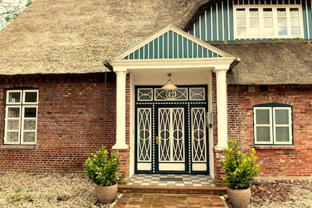 Gästehaus Reetdachhof Doss - Seeth-Ekholt - Huis