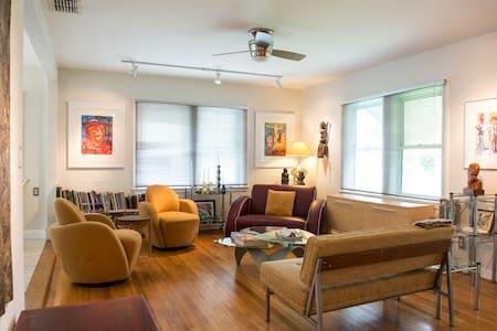 Modern Home in Lush Florida Garden - St Petersburg - Hus