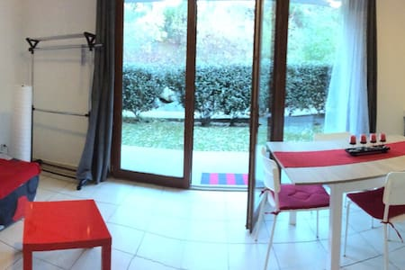 Beau Studio 4 pers Piscine Parking - Arreau - Appartement