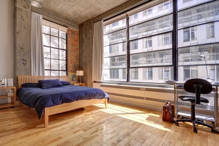 Sunny Old Montreal Loft