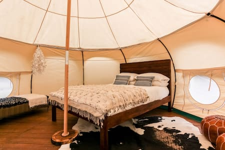 YURT GLAMPING #1 @ Green Acres Boutique Retreat - Jurta