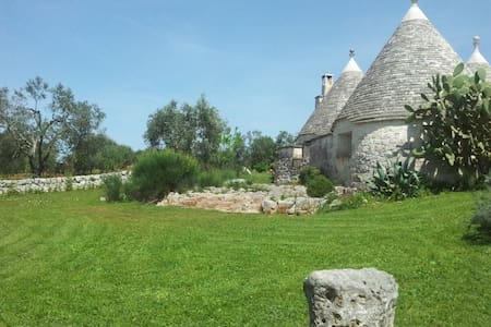 B&B La Gufa Trullo in Itria Valley. - Andere
