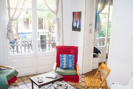 Hello! My apartment is clean, young, cool, spacious and well situated. I offer a  lovely and clean room with bed sheets, pillows, blankets, towels, 100MB optical fiber internet. for more information see my full profile...