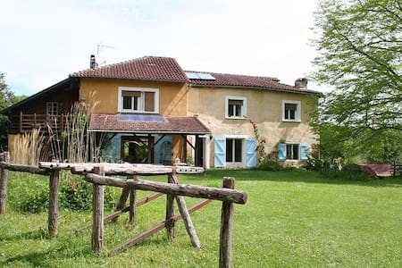 Chambre Double/Twin - Sainte-Croix-Volvestre - Bed & Breakfast