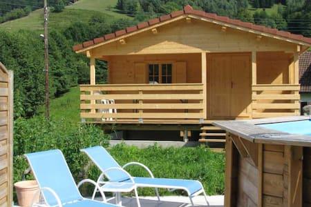 Chalet avec sauna et bain bouillonnant - Mitzach - Chalet