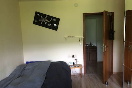 Helles Zimmer in ruhiger Lage - Apartment