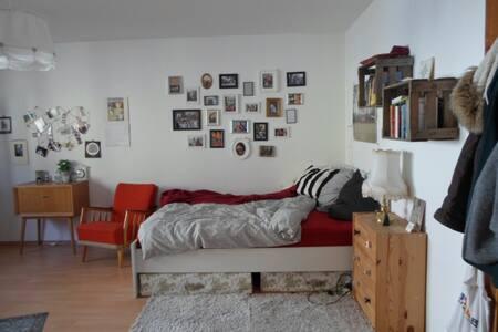Großes Zimmer zum Wohlfühlen in Stadtnähe - Apartment