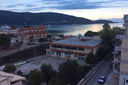 The best view in Igoumenitsa center - Ηγουμενίτσα - Apartment