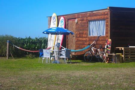 Bungalow at Ria de Aveiro Lagoon - Bunheiro - Bungalow