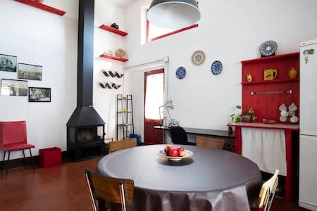 Can Tumeu - La petite maison rouge - Espolla - Hus