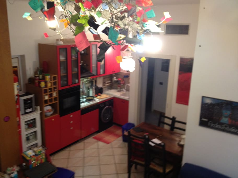 La cucina/the kitchen