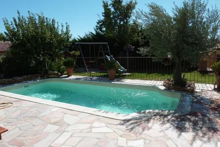 House in Provence with swimmingpool - Coudoux