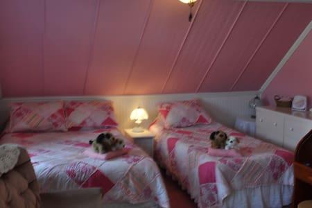 Gite Petit B&B - pink room - Grandes-Bergeronnes - Bed & Breakfast