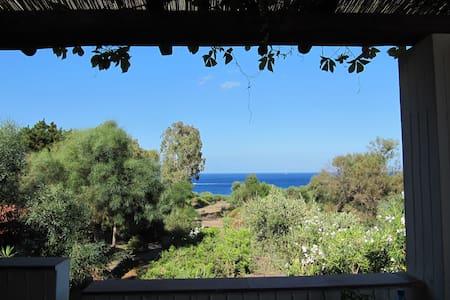 Vulcano blu terrace and sea view - Lejlighed