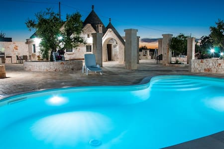 """Trullis with pool and garden """"il Colle del Noce"""" - Martina Franca - Villa"""