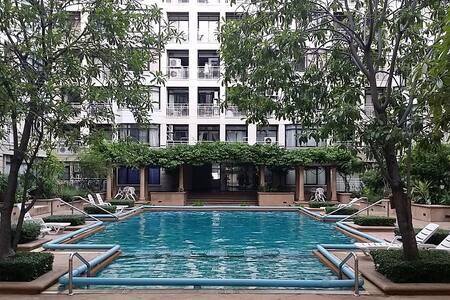 2BR Luxury Condo in Central Bangkok