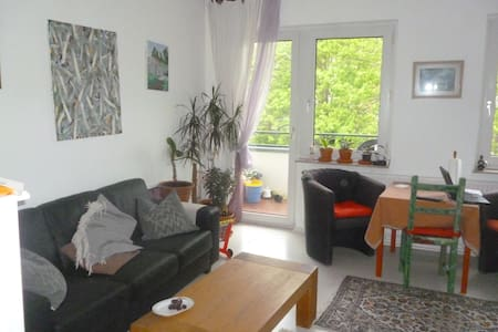 3' to center, quiet flat, balcony, near forest - Apartment
