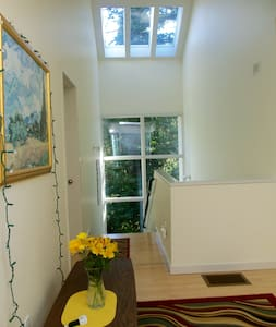 Quiet, Private, Master Suite w/fridge, cable, wifi - House