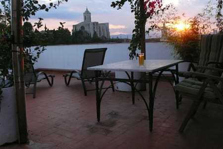 Rooftop terrace apartment for 5p