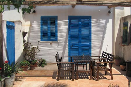 Stylish art cottage near the beach