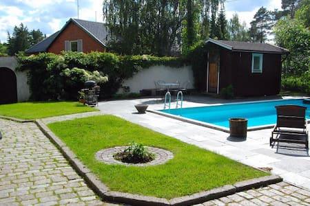 Apartment near sea with sauna,pool - Tyresö - House