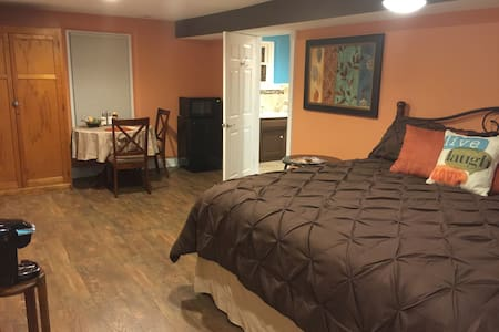 Payne Jailhouse Bed and Breakfast, Caribbean Room - Excelsior Springs - Szoba reggelivel