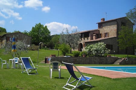 Agriturismo Casagrande- LA QUERCIA - Montepulciano - Villa