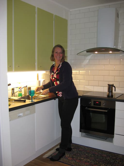 The kitchen can be used at any time by my guests.