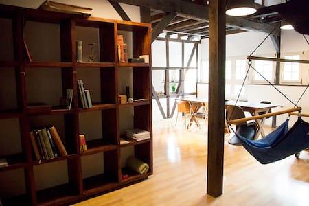 Spacious loft in heritage-Building