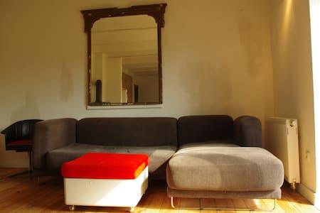 Gutshof Buberow- Seminarhaus (Loft) - Rumah
