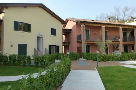 Condo by Lake Garda (garden & pool) - Apartment