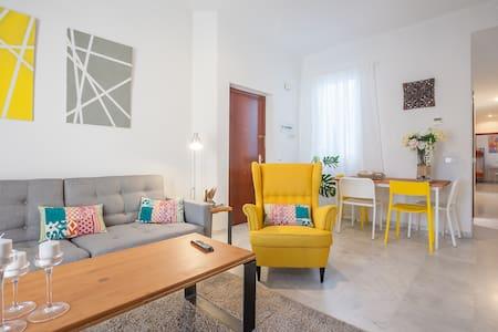 SPACIOUS DOUBLE ROOM CENTER SEVILLA - Apartamento